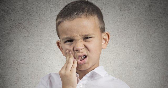 çocuklarda diş ağrısı